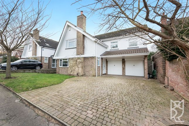 Thumbnail Detached house for sale in Lexden Grove, Lexden, Colchester