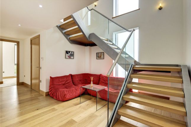 Staircase of Melrose Apartments, 6 Winchester Road, Swiss Cottage NW3