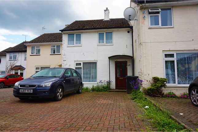 Thumbnail Terraced house for sale in Carters Mead, Harlow