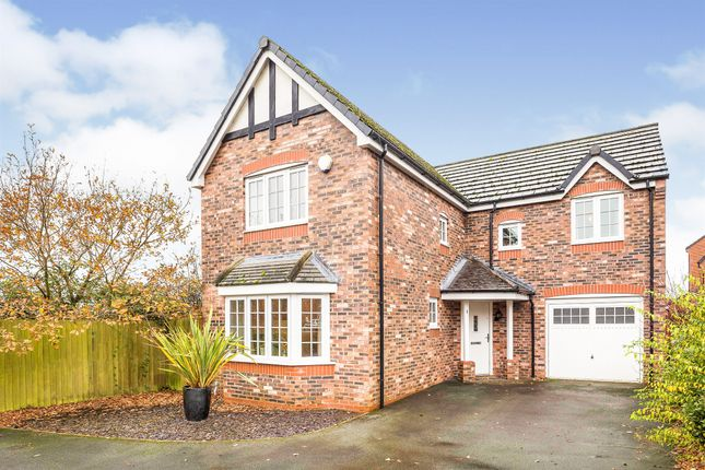 Thumbnail Detached house for sale in Radcliffe Road, Winsford