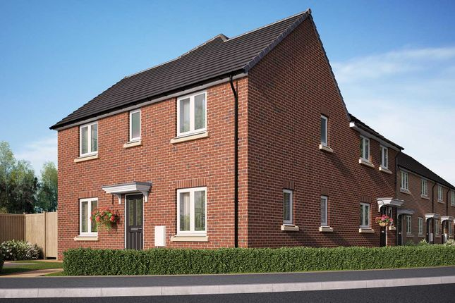 """Thumbnail Semi-detached house for sale in """"The Mountford"""" at Racecourse Road, East Ayton, Scarborough"""
