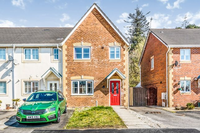 Thumbnail End terrace house for sale in Tro Tircoed, Tircoed Forest Village, Swansea
