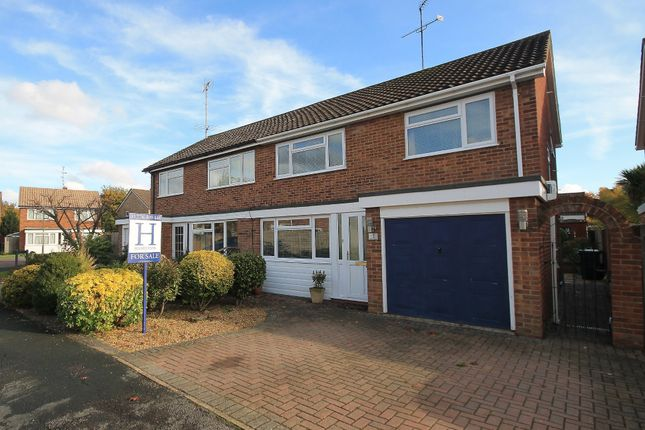 Thumbnail Semi-detached house for sale in Chartwell, Frimley Green, Camberley