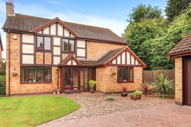 4 bed detached house for sale in Wentworth Green, Kirby Muxloe, Leicester, Leicestershire