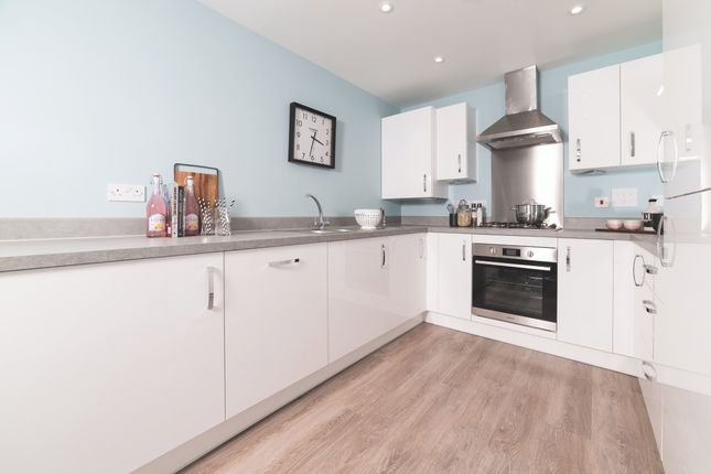 Thumbnail Detached house for sale in The Ashbee, Kingfisher Green, Exeter