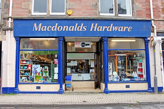 Thumbnail Retail premises for sale in Macdonald'S Hardware, High Street, Dingwall