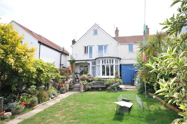 Thumbnail Semi-detached house for sale in Percy Avenue, Broadstairs