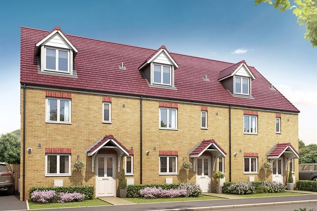"Thumbnail Semi-detached house for sale in ""The Leicester"" at Bellona Drive, Peterborough"
