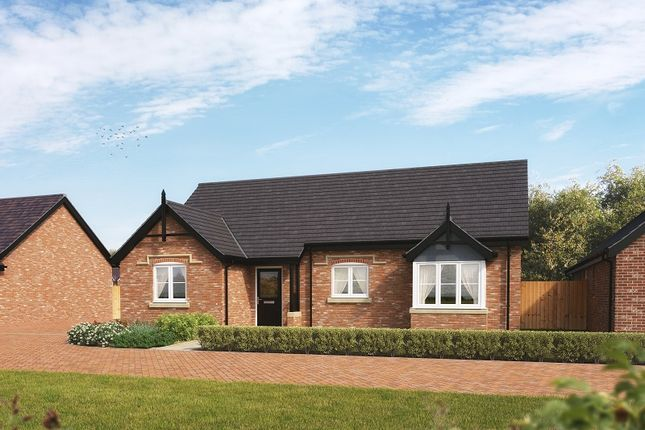 Thumbnail Detached bungalow for sale in Off Station Road, Hadnall