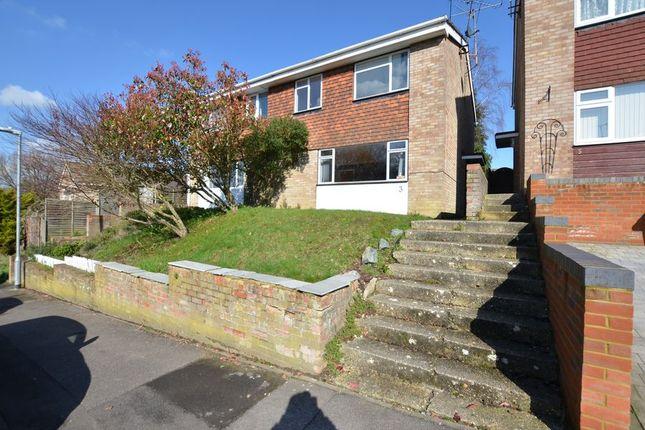 Thumbnail Semi-detached house to rent in Allendale Close, Sandhurst