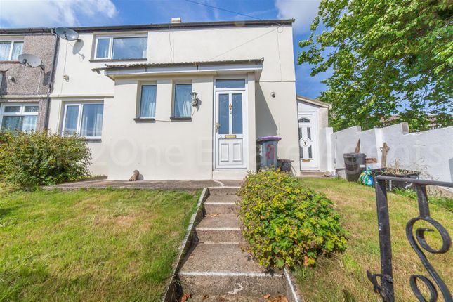 Thumbnail End terrace house for sale in Bythway Road, Trevethin, Pontypool