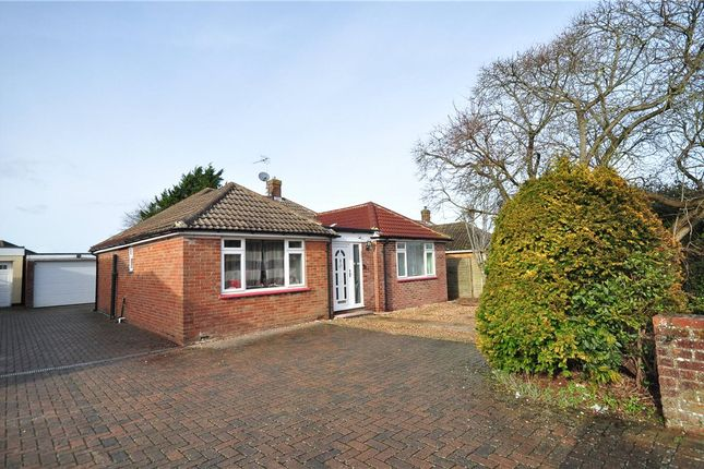 Thumbnail Detached bungalow for sale in Brackley Way, Basingstoke, Hampshire