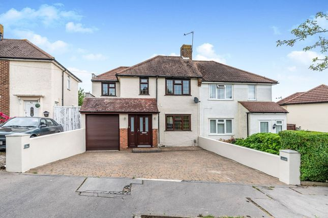 Thumbnail 3 bed semi-detached house for sale in Bothwell Road, Croydon
