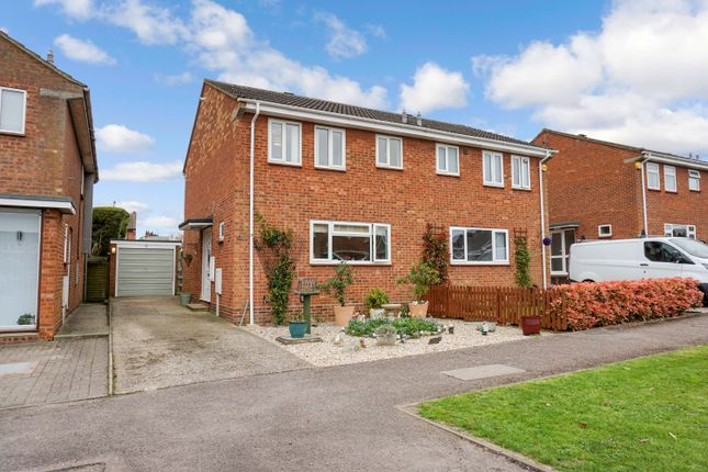 Thumbnail Semi-detached house for sale in Orchard Close, Meppershall, Shefford
