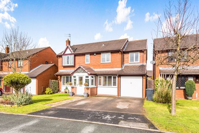 Thumbnail Detached house for sale in Richmond Drive, Lichfield