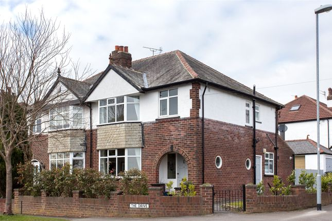 Thumbnail Semi-detached house to rent in The Drive, Alwoodley, Leeds, West Yorkshire