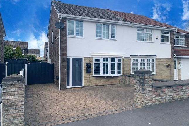 Thumbnail Semi-detached house for sale in Mallory Avenue, Lydiate