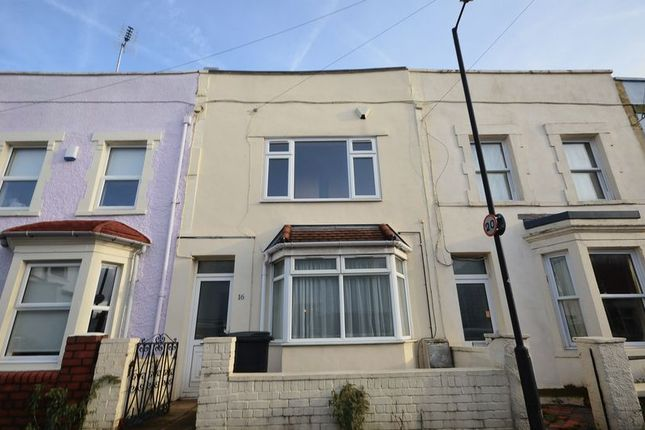 Thumbnail Terraced house to rent in Bellevue Road, Totterdown, Bristol