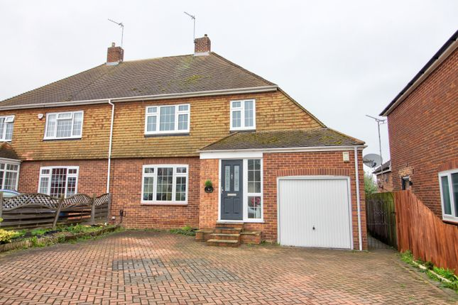 Thumbnail Semi-detached house for sale in Brompton Farm Road, Strood, Rochester