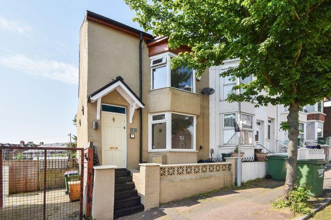 Thumbnail End terrace house for sale in Garden Road, Folkestone