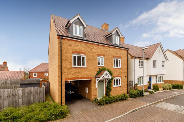 Thumbnail Detached house for sale in Garfield, Langford, Biggleswade