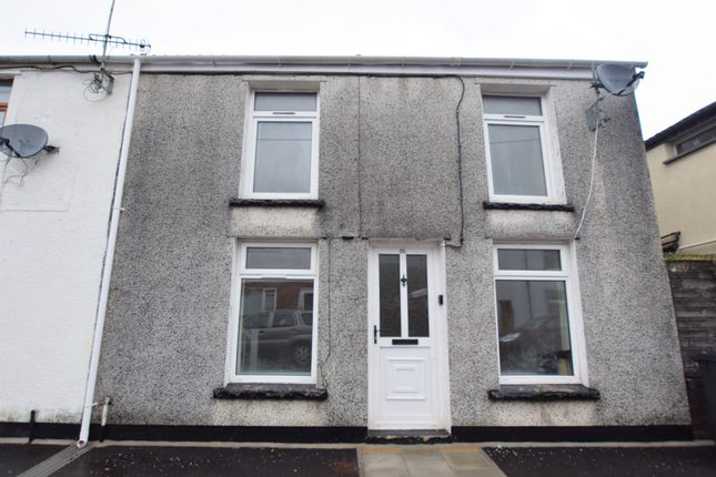 Thumbnail End terrace house for sale in Elm Street, Troedyrhiw, Merthyr Tydfil