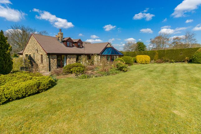 Thumbnail Detached bungalow for sale in The Knowle, Shepley, Huddersfield