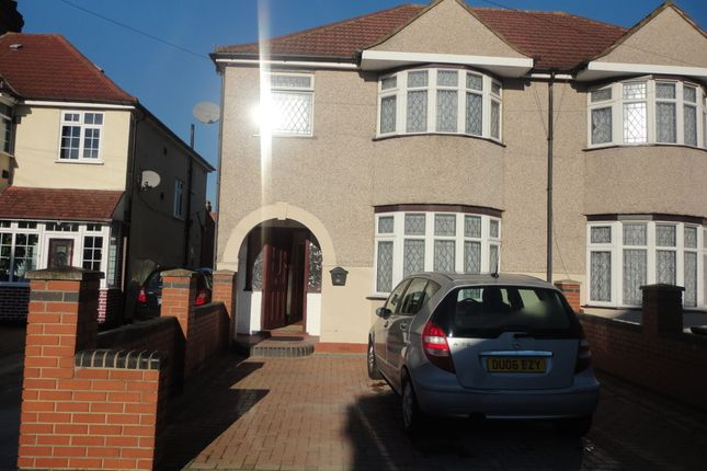 Thumbnail Semi-detached house to rent in Connaught Avenue, Hounslow