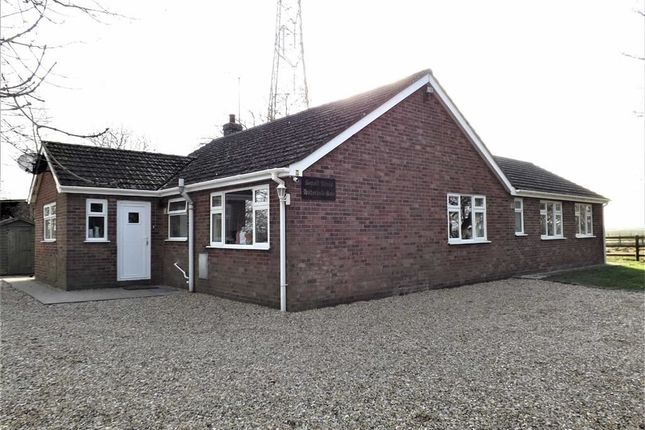 Thumbnail Detached bungalow for sale in Hitherhold Gate, Cranmore Lane, Holbeach, Spalding
