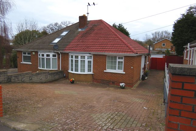 Thumbnail Semi-detached bungalow for sale in Pontypridd Road, Barry