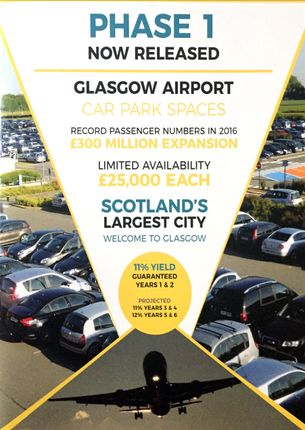 Thumbnail Land for sale in Mcfarlane Street, Glasgow Airport