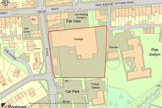 Thumbnail Land for sale in Former Coach Station, Llyfni Road, Penygroes, Caernarfon, Gwynedd
