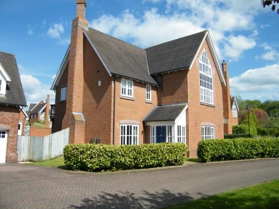 Thumbnail Detached house for sale in Sandford Crescent, Weston, Crewe, Cheshire
