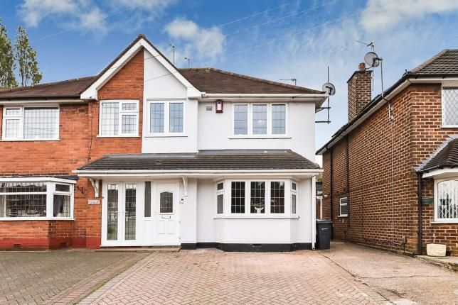 Thumbnail Semi-detached house for sale in Queslett Road, Great Barr, Birmingham