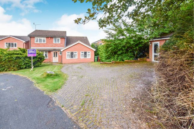 Thumbnail Detached house for sale in Kingfisher Crescent, Stoke-On-Trent
