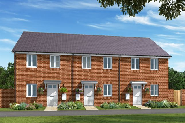 Thumbnail End terrace house for sale in Gipping Road, Great Blakenham, Ipswich
