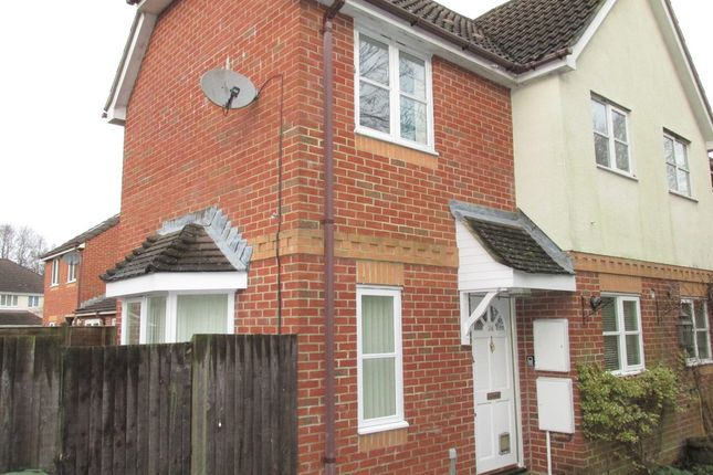 Thumbnail Terraced house for sale in Collett Close, Hedge End, Southampton