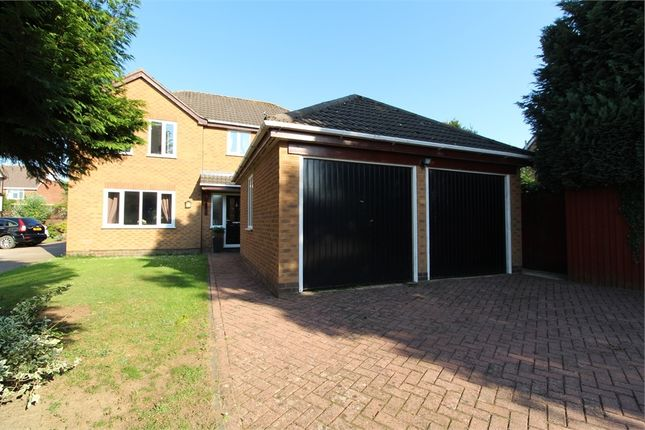 Thumbnail Detached house for sale in Pear Tree Close, Lutterworth