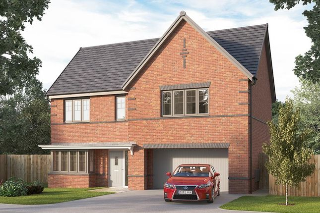 """Thumbnail Detached house for sale in """"The Welbury"""" at Etwall Road, Mickleover, Derby"""