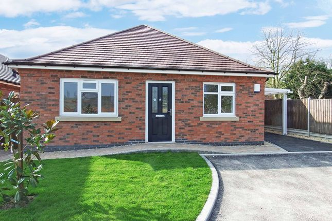 Thumbnail Detached bungalow for sale in Seagrave Road, Sileby