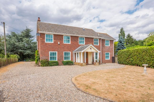 Thumbnail Detached house for sale in Little Cornard, Sudbury, Suffolk