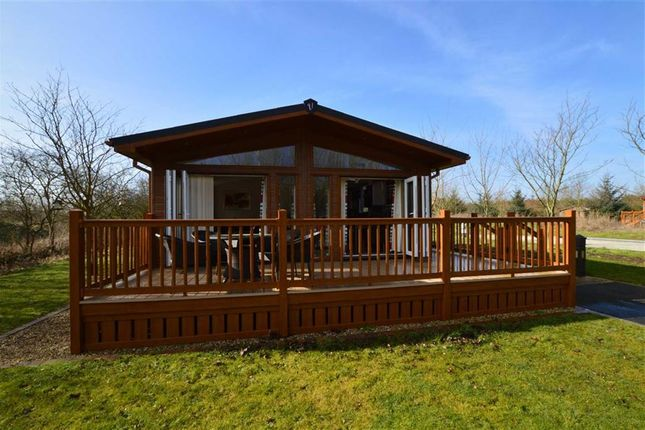 Thumbnail 3 bed mobile/park home for sale in Lake Superior, The Lakes At Far Grange, Skipsea, East Yorkshire