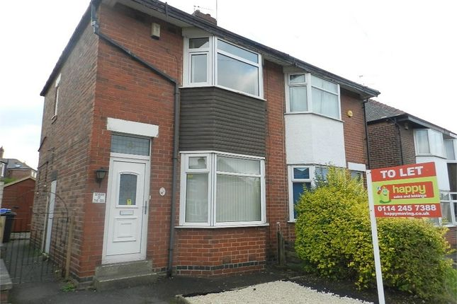 Thumbnail Semi-detached house to rent in Lound Road, Handsworth, Sheffield, South Yorkshire