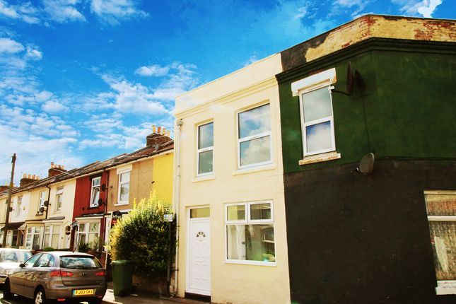 Thumbnail End terrace house to rent in Guildford Road, Portsmouth