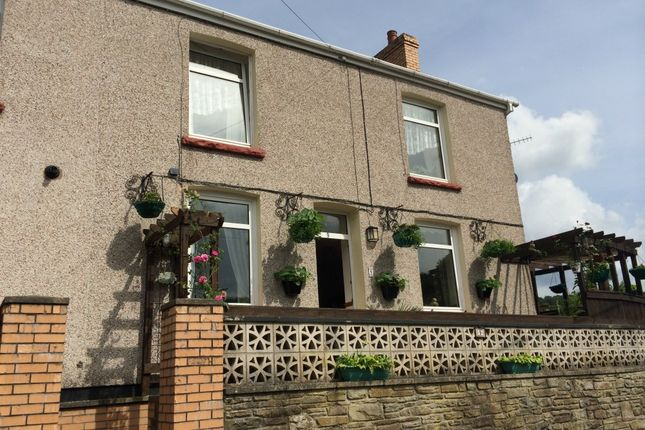 Thumbnail End terrace house for sale in Woodside Terrace, Llanhilleth, Abertillery, Gwent