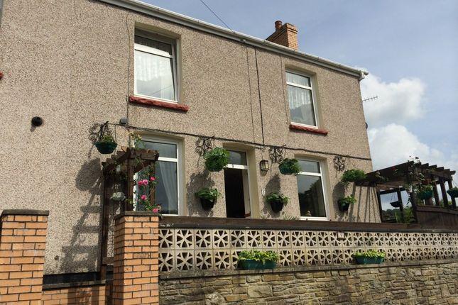 Thumbnail End terrace house for sale in Woodside Terrace, Llanhilleth, Abertillery, Gwent