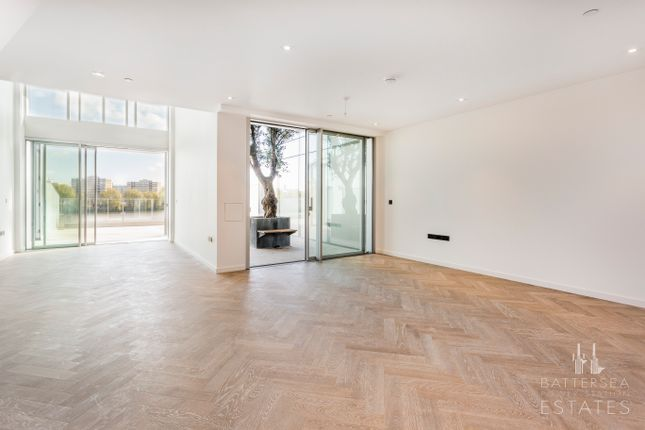 Thumbnail Town house to rent in Bessborough House, Battersea Power Station, Circus Road West, Battersea, London