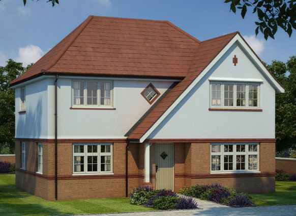 "Thumbnail Detached house for sale in ""Shaftesbury"" at Ledsham Road, Little Sutton, Ellesmere Port"