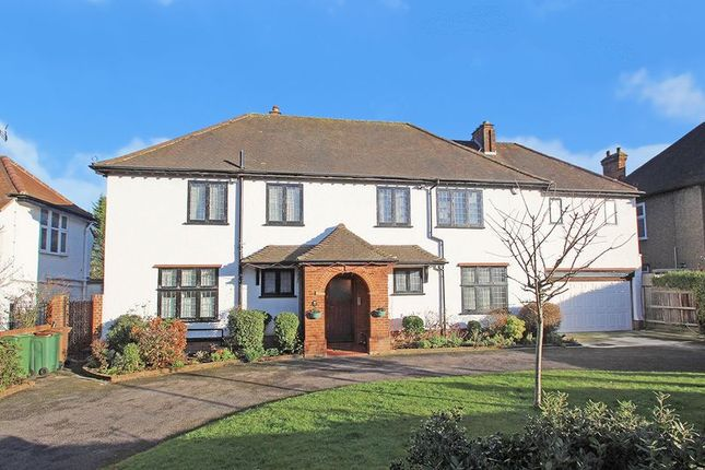 Thumbnail Detached house for sale in Manor Road, Cheam, Sutton, Surrey