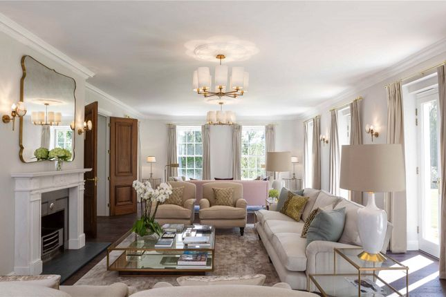 Drawing Room of Woodlands Road West, Virginia Water, Surrey GU25